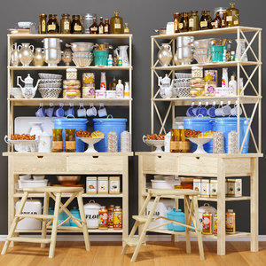3D decorative kitchen