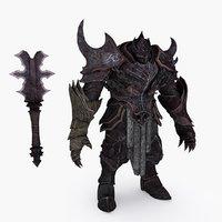 fantasy character type 2 3D model