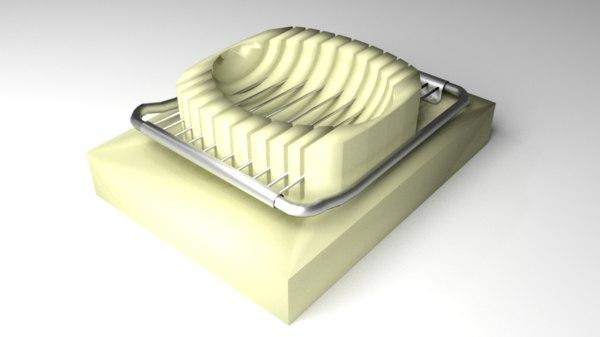 3D eggs slicer model