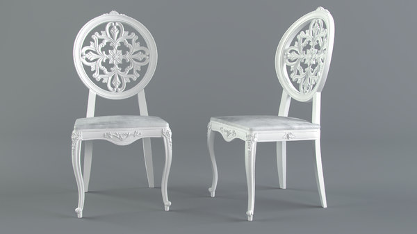 3D model furniture seating chair