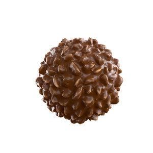 3D model rocher ferrero chocolate