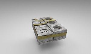 3D electronics sockets