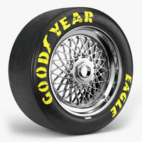 goodyear eagle bbs e55 3D model