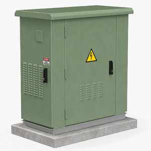 electrical box 3D