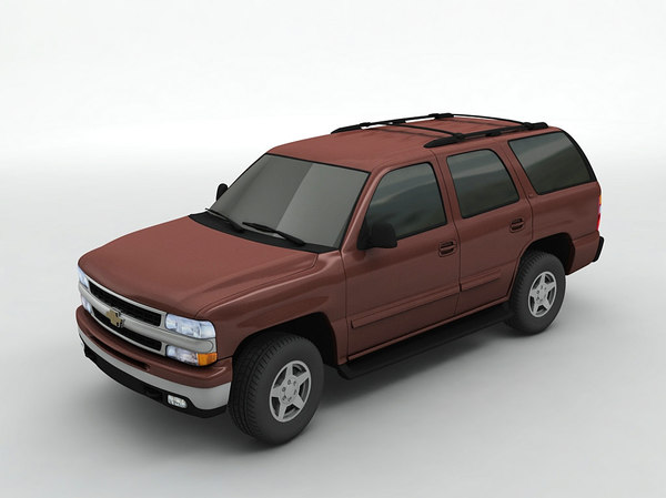 chevy tahoe suv 3D model