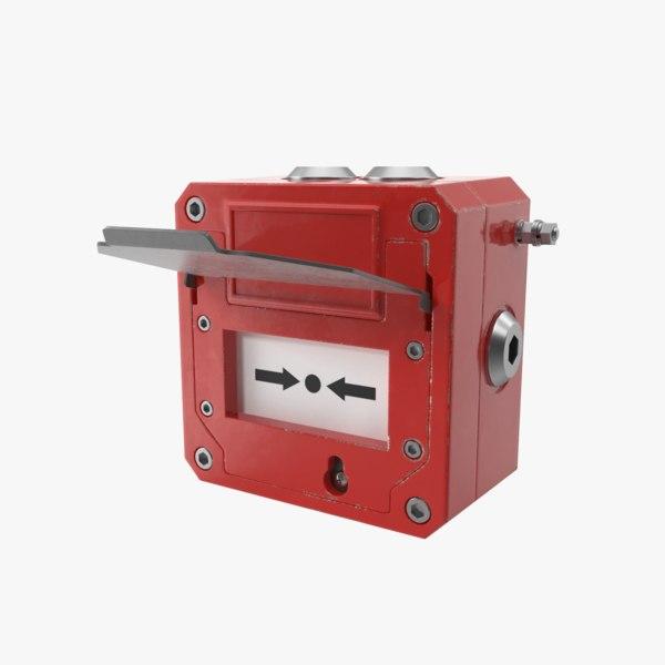 alarm single 3D model