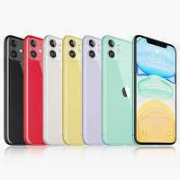 apple iphone 11 colors model