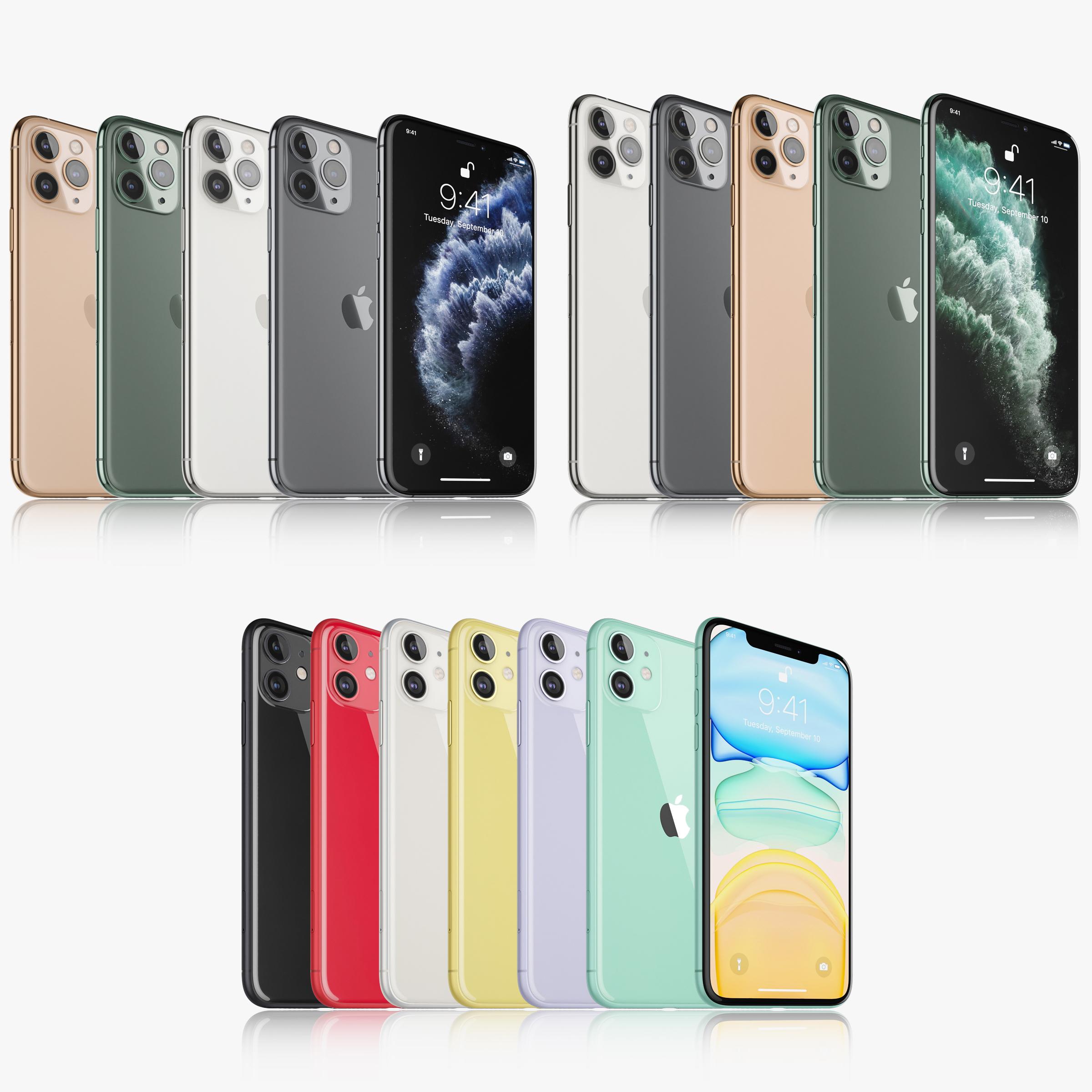 Apple iPhone 11 Pro \u0026 11 Pro MAX \u0026 11 All colors