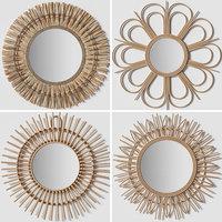 mirrors v-ray corona 3D model