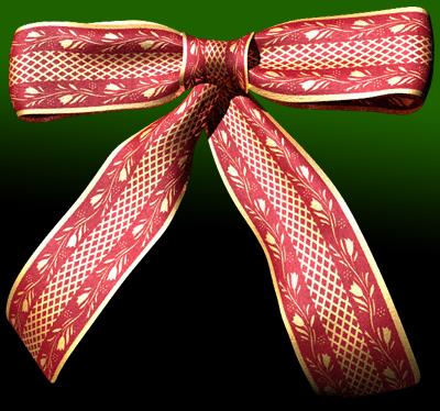 lightwave bow christmas