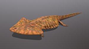 3D diplocaulus magnicornis