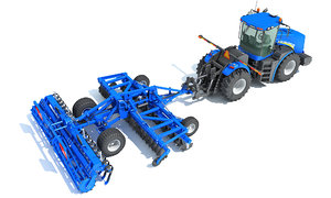 new holland tractor disc 3D