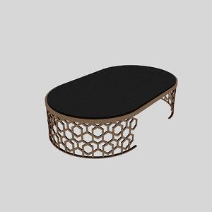 metal table 3D
