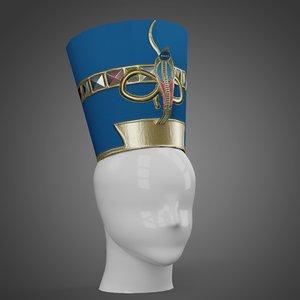 character nefertiti 3D model
