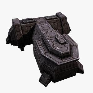 scifi armory model