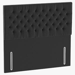 headboard 01 charcoal model