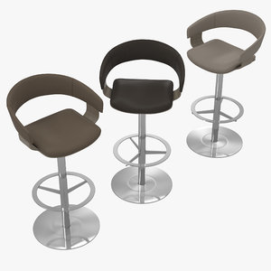 3D model allermuir mollie a589 bar stool