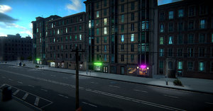 module based city 3D model
