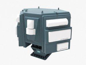 3D slq-32 electronic warfare suite