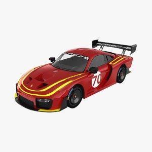 3D porsche 935 model