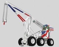 3D tilly crane aircraft model