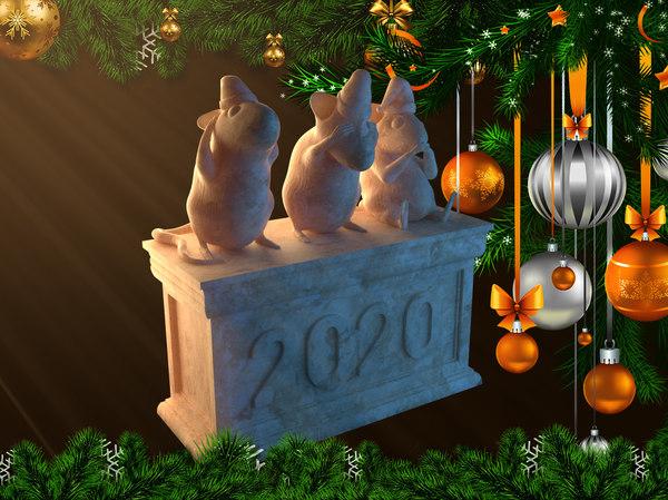 mouse souvenir 3D model