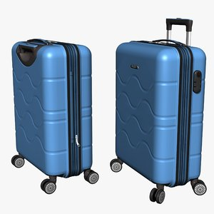 3D cabin suitcase model