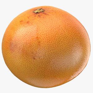 3D grapefruit 01 ready games