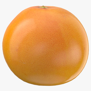 3D grapefruit 04 ready games