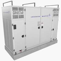 lockheed martin energy storage 3D model