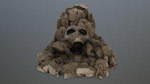 skull gate 3D