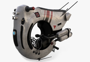 3D sci-fi pbr