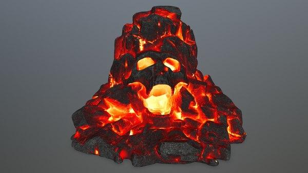 skull gate 3D model