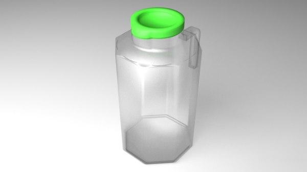 jug bottle 3D model