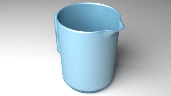 jug plastic 3D model