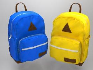 ready backpack 3D model