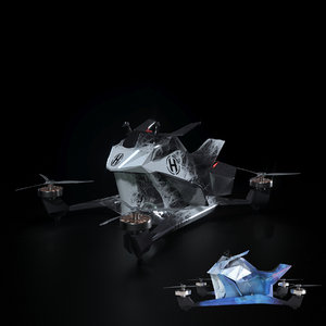 aircraft hoversurf s3 3D model