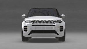 3D rover range evoque model