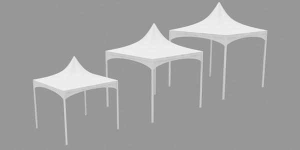 3D tent outdoor wedding