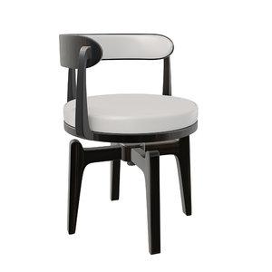 3D model office swivel chair