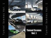 3D cgi tunnel scenes vol 1