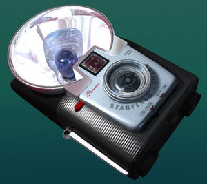kodak brownie starflash camera 3d model
