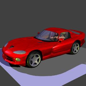 3d cars vehicles dodge