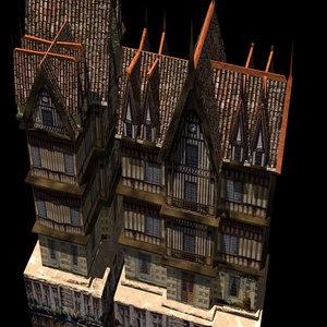 3d tudor house windsor