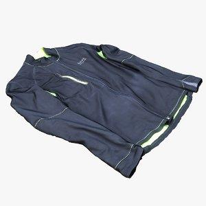 scan jacket model