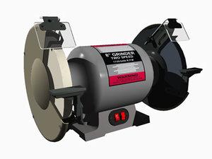 speed grinder 3d obj
