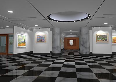 3d model museum studio studiotools