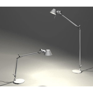 artemide tolomeo lamp 3d model