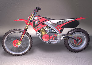 3d motocross motorcycle bikes aliasstudio