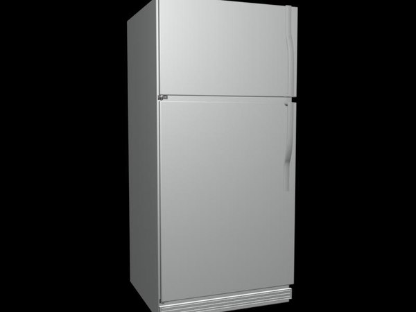 3ds max fridge